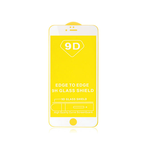 Tempered Glass Screen Protector iPhone 7, 8 White - Loctus