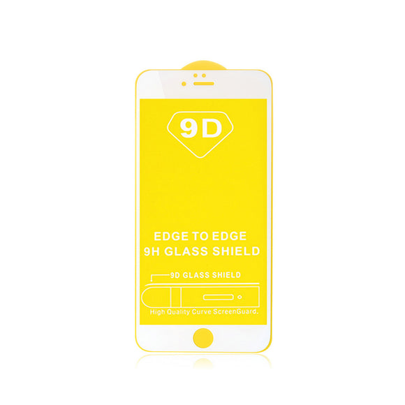 Tempered Glass Screen Protector iPhone SE White