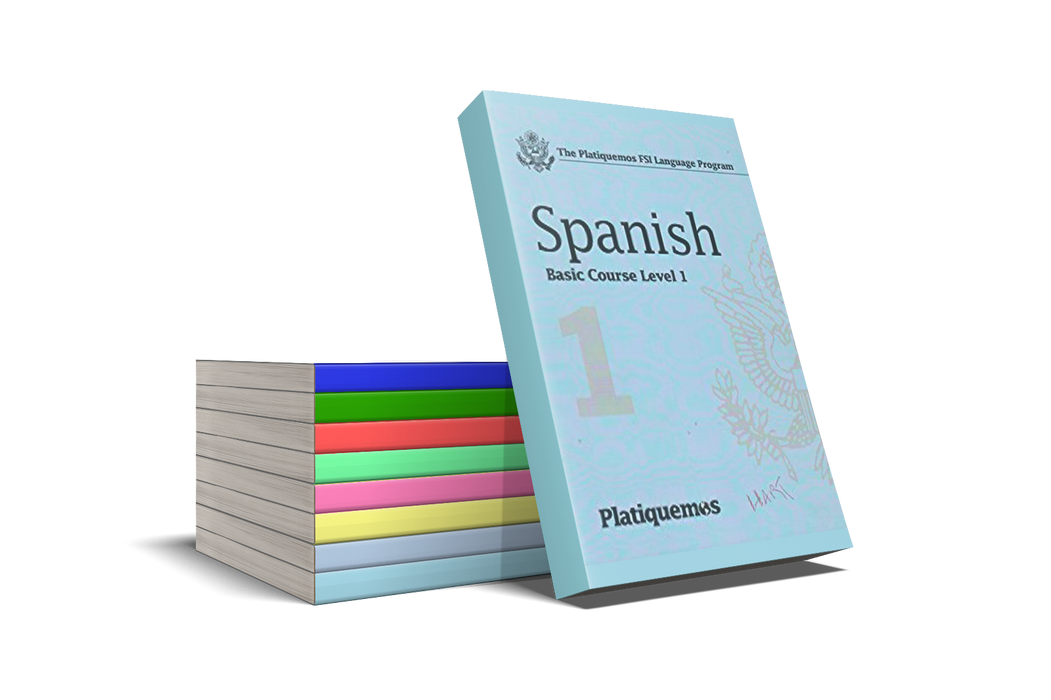 Platiquemos Spanish Course with Books and CD's