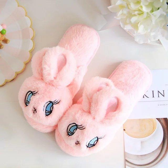 bunny rabbit slippers waterproof - TigerSo