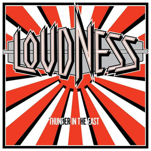 Loudness THUNDER IN THE EAST 5th Album LIMITED EDITION New Red Colored Vinyl LP 81227933500 - TigerSo