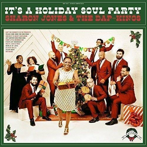 "SHARON JONES & DAP-KINGS: ""It's a Holiday Soul Party"": NEW GREEN VINYL LP!  823134003712 - TigerSo"