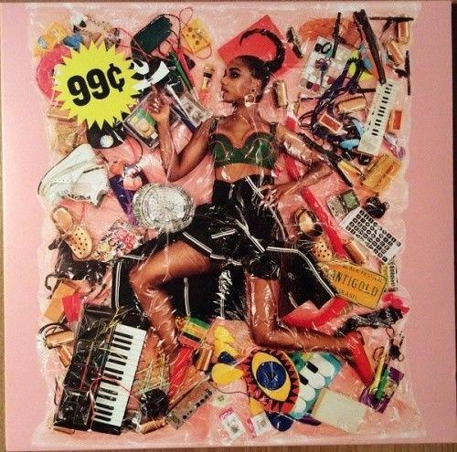 SANTIGOLD 99¢ LP NEW CLEAR VINYL Downtown - TigerSo
