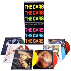 THE CARS - Elektra Years 1978-1987 [Colored Vinyl New] - 6 LPs - TigerSo