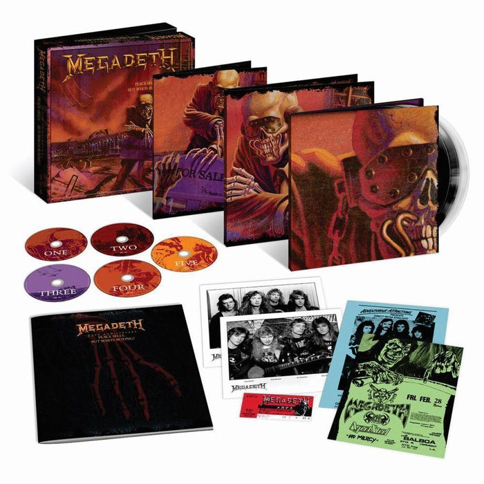 Megadeth Peace Sells...But Who's Buying? 25th Anniversary Edition CD+Vinyl Box 5099902933924 - TigerSo
