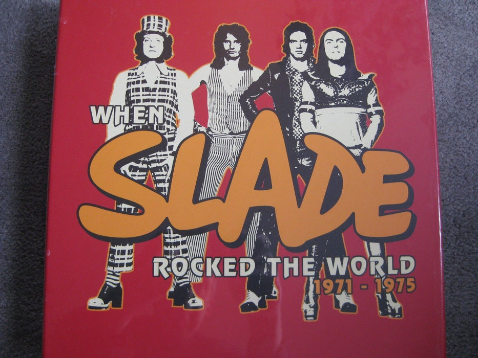 Slade 'When Slade Rocked the World 1971-1975' Colored Vinyl LP + CD Box Set New - TigerSo