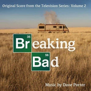 Breaking Bad Original TV Score 2 Vinyl LP Record & Poster Dave Porter Soundtrack - TigerSo