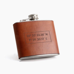 Wedding Anniversary Gift for Husband | Personalized Flask by Craftive