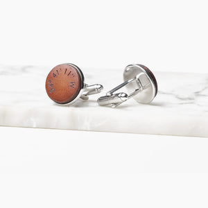 Coordinate Cufflinks - GPS Coordinates Gift by Craftive