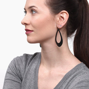 Large Statement Earrings - Teardrop Earrings