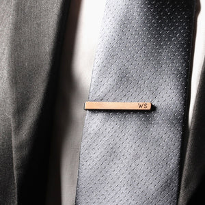 5 Year Anniversary Gift for Husband - Wooden Tie Clip