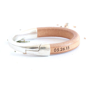 Anniversary Gift for Wife - Initials Bracelet by Craftive