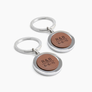 Engraved Keychains for Couples