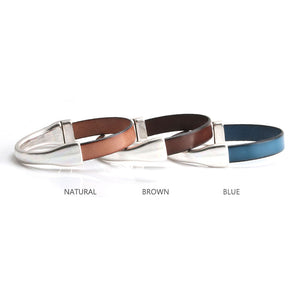 Women Leather Bracelet - Brown Leather Bracelets Women by Craftive Leather