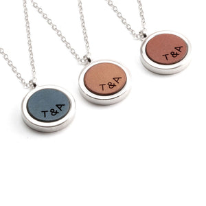 Initial Necklaces Women - Anniversary Necklace by Craftive