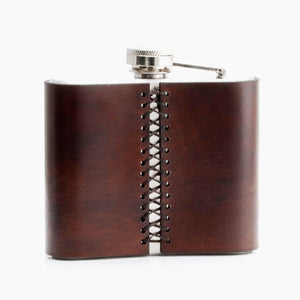 Liquor Flask - Personalized Leather Flask