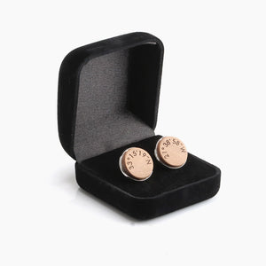 Men's Cufflinks - Wedding Anniversary Gift Ideas by Craftive
