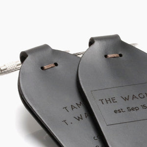 Personalised Luggage Tags - Gift for Couple by Craftive
