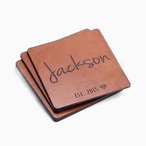Personalized Anniversary Gifts - Custom Made Coasters by Craftive
