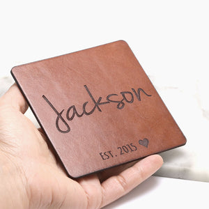 Custom Made Coasters - Personalized Anniversary Gifts
