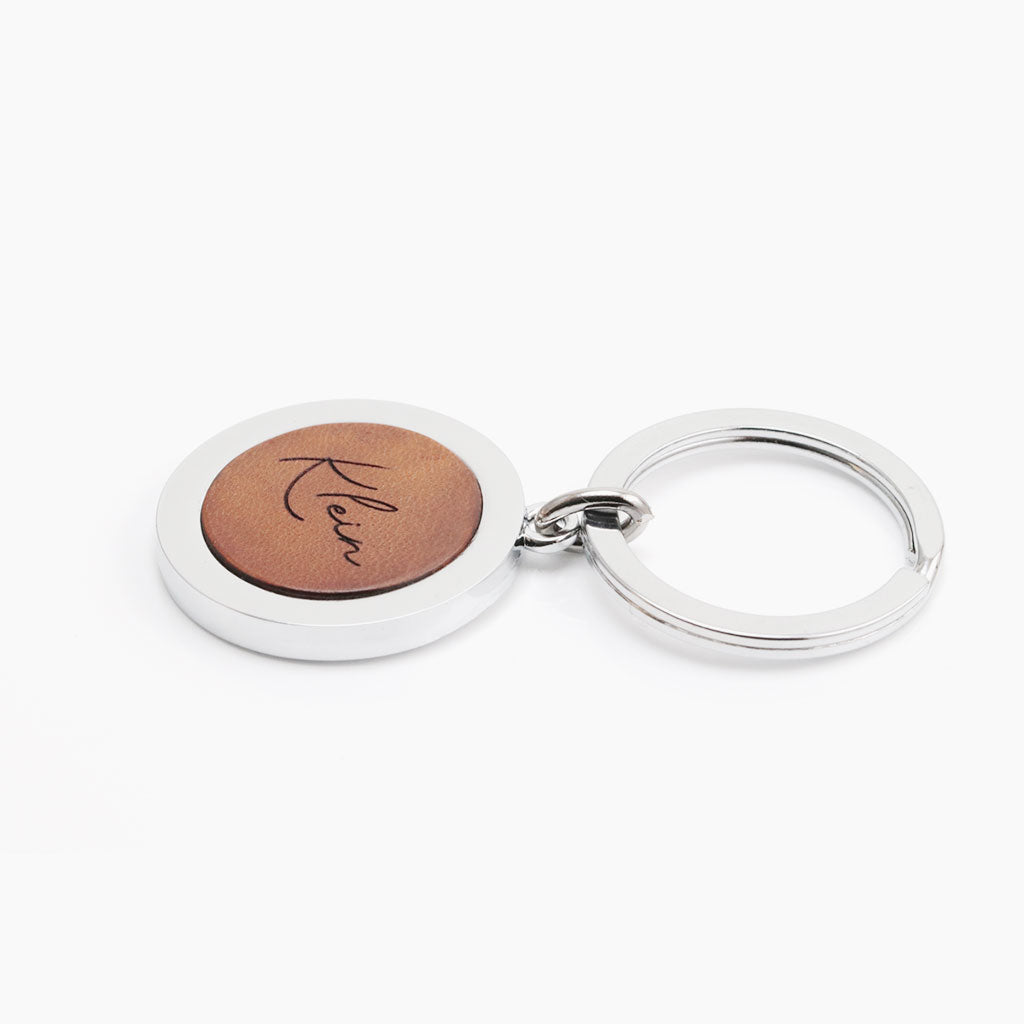 Personalized Leather Keychain - Custom Keychains