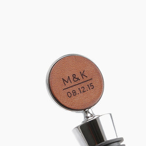 Personalized Wine Gifts - Wine Stopper Personalized by Craftive