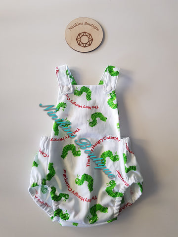 Summer Romper-Caterpillar Size: 00