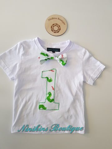 1st Birthday Tshirt-Caterpillar Size: 1