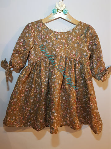 Bristol Top/Dress - Flowers in the Woods Size: 3