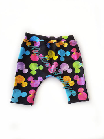 Leggings - Rainbow Mouse Heads Size: 000