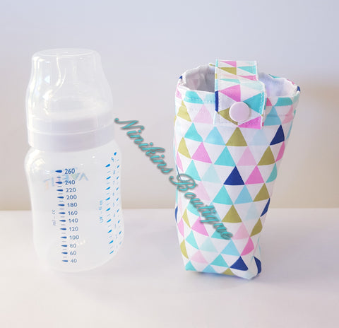 Insulated Bottle Holder Short - Pastel