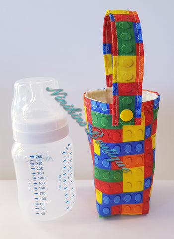 Insulated Bottle Holder Short - Lego