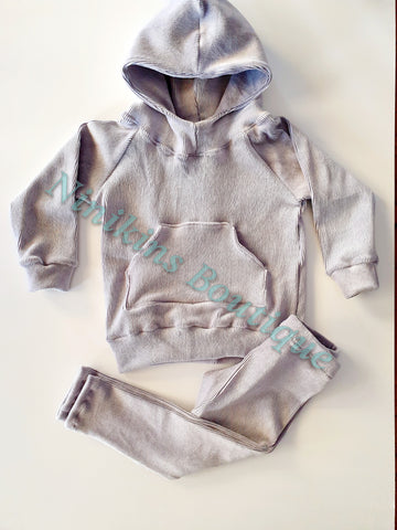 Winter Set - Grey Corduroy Velour Size: 3