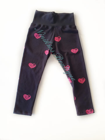 Leggings - Happy Hearts Size: 2
