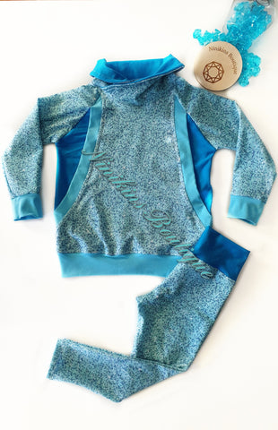 Winter Set -  Blue Glitteraty Size: 3