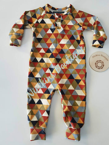 Coveralls - Triangle Mayhem Size: 1