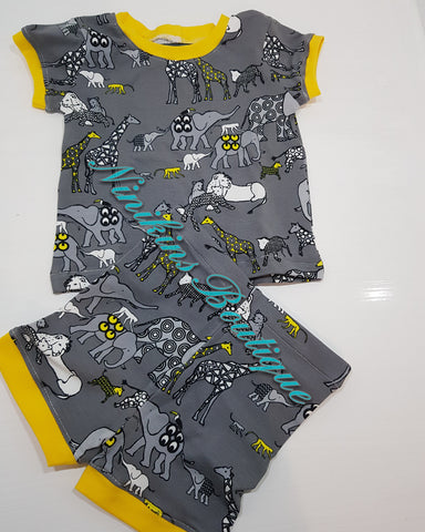 Summer Sets - African Animals Size: 00