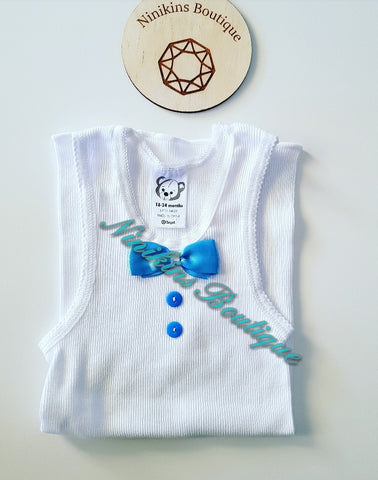 Decorative Singlet Size: 18-24mths