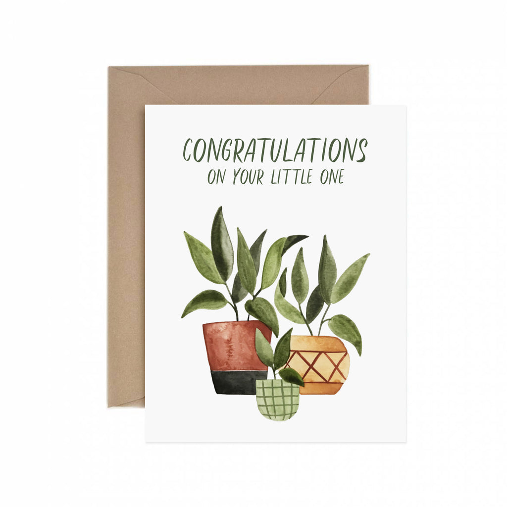 Little One Congratulations Greeting Card