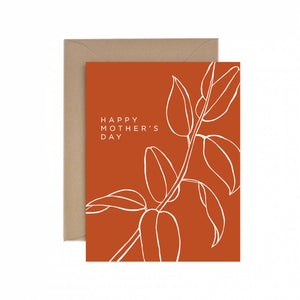 Mother's Day Warm Greeting Card