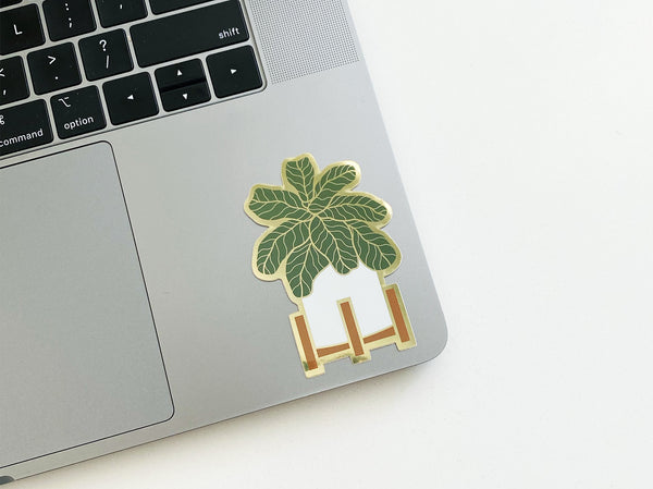 Fiddle Leaf Sticker