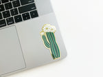 Olivia Blooming Cactus Sticker