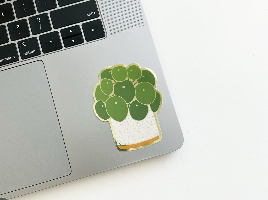 Pilea Sticker