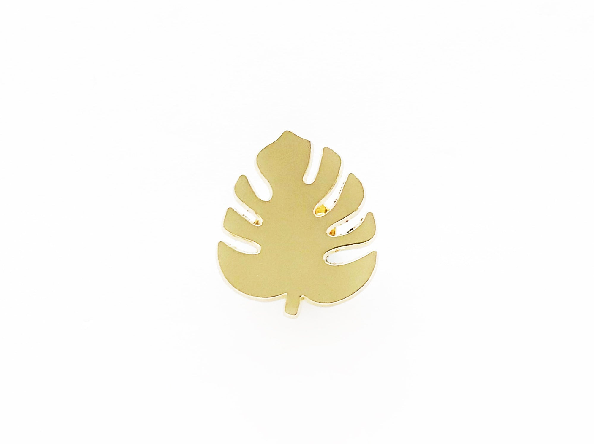 Monstera Leaf Lapel Pin
