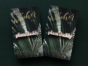 Plant Daddy Enamel Lapel Pin