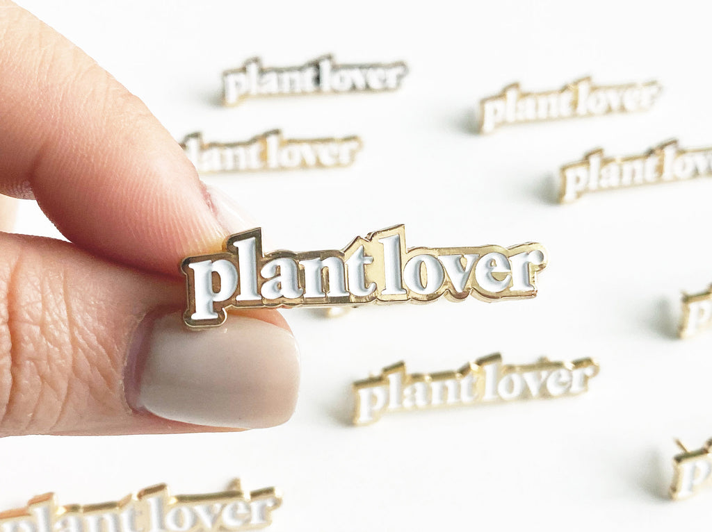 Plant Lover Enamel Lapel Pin