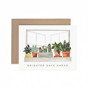 Brighter Days Ahead Sympathy Greeting Card