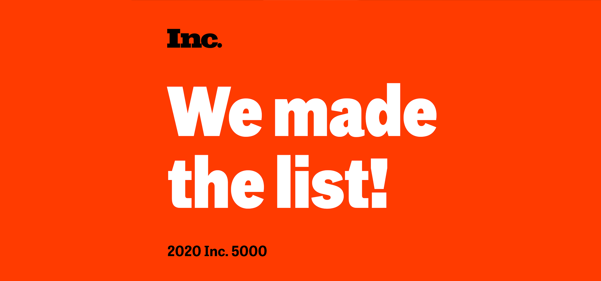 Enso Rings Ranks No. 316 on the 2020 Inc. 5000 | Enso Silicone Rings