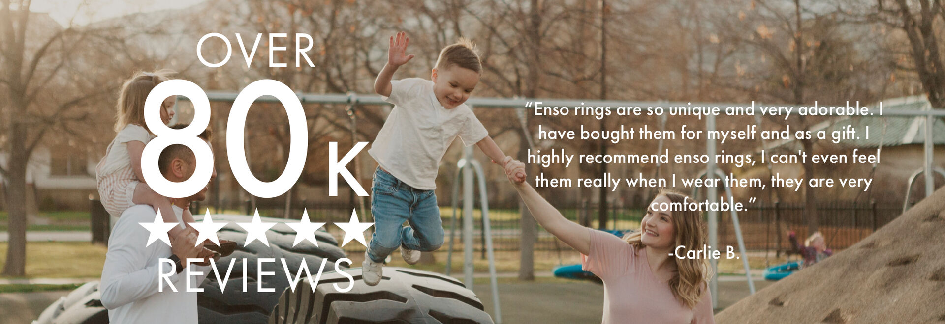 Enso has more than 80,000 5-star reviews!