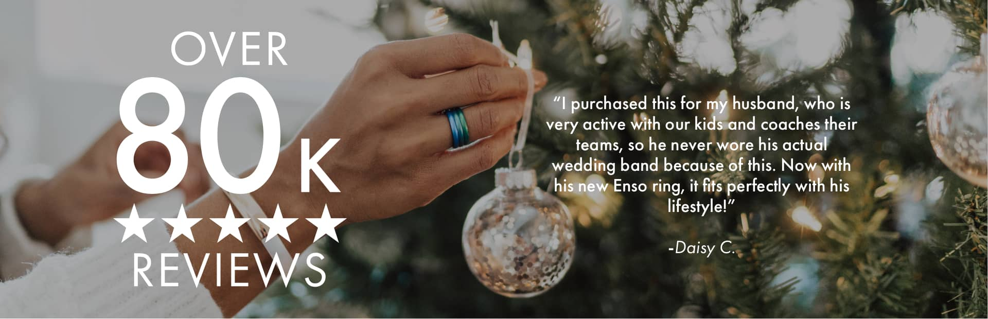 Inked Rings | Holiday Collection | Enso Rings has over 80,000 positive reviews!